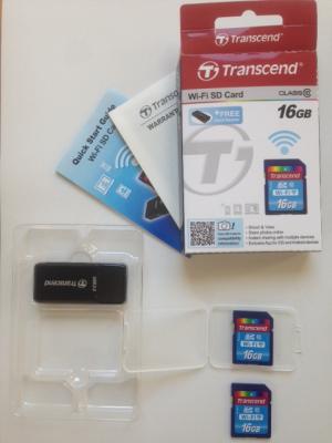 Transcend Wi-Fi SD Card