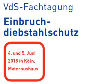 Logo VdS-Fachtagung Einbruchdiebstahlschutz